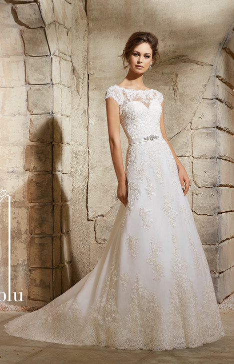 5370 gown from the 2015 Mori Lee: Blu collection, as seen on dressfinder.ca