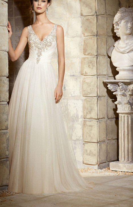 #5374 gown from the 2015 Morilee Blu collection, as seen on dressfinder.ca