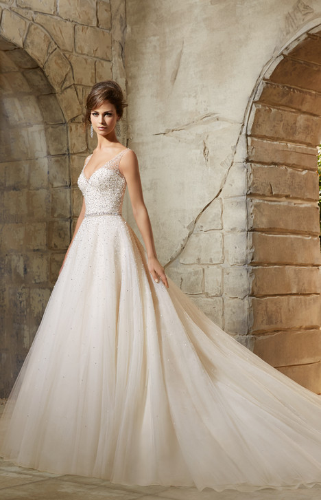5376 gown from the 2015 Mori Lee: Blu collection, as seen on dressfinder.ca