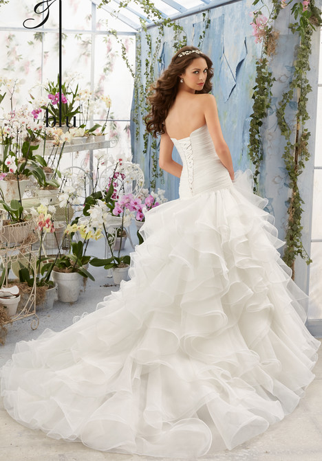 5412 (back) gown from the 2016 Mori Lee: Blu collection, as seen on dressfinder.ca