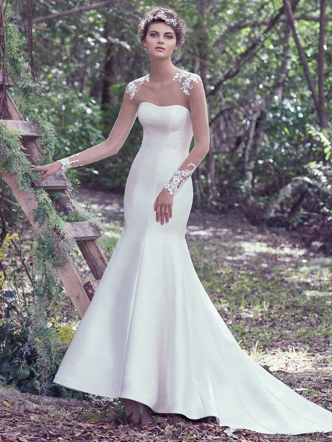 Dante gown from the 2016 Maggie Sottero collection, as seen on dressfinder.ca