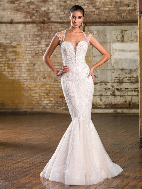 9837 gown from the 2016 Justin Alexander Signature collection, as seen on dressfinder.ca