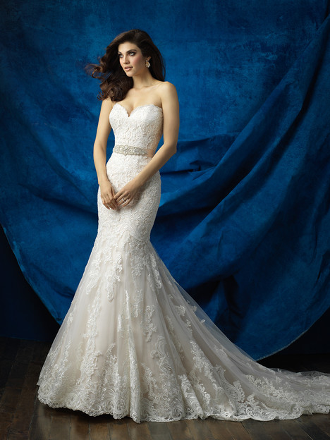 9368 gown from the 2016 Allure Bridals collection, as seen on dressfinder.ca