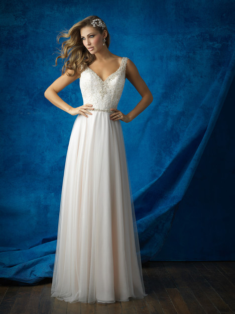 9373 gown from the 2016 Allure Bridals collection, as seen on dressfinder.ca