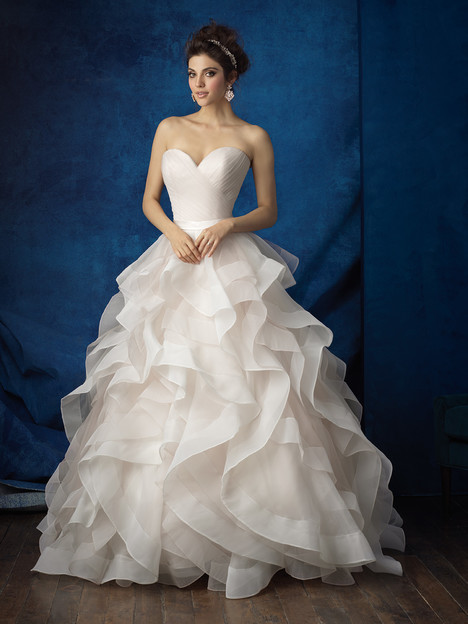 9375 gown from the 2016 Allure Bridals collection, as seen on dressfinder.ca