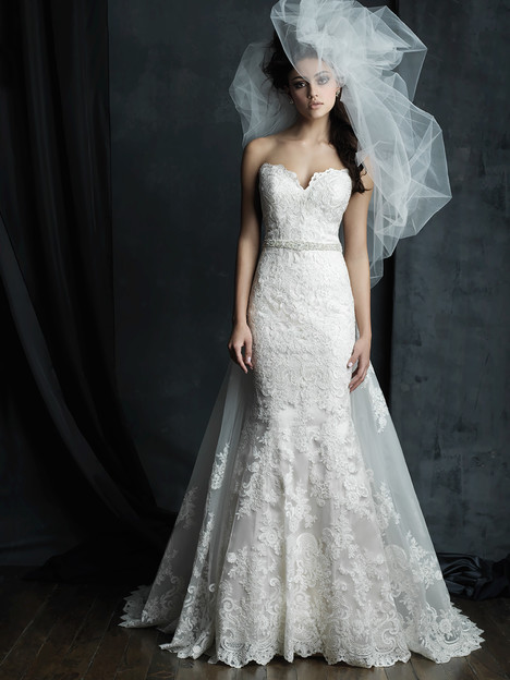 C387 gown from the 2016 Allure Couture collection, as seen on dressfinder.ca