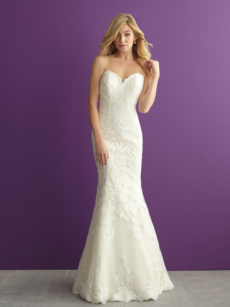 2954 gown from the 2016 Allure Romance collection, as seen on dressfinder.ca