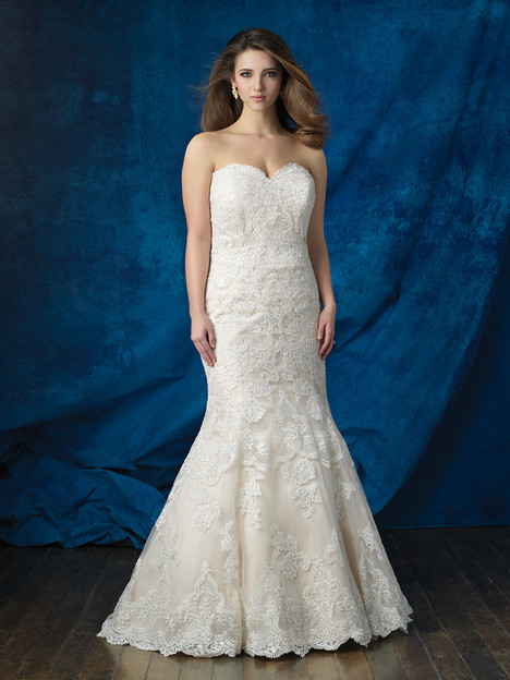 W383 gown from the 2016 Allure Women collection, as seen on dressfinder.ca