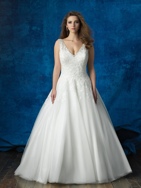W388 gown from the 2016 Allure Women collection, as seen on dressfinder.ca