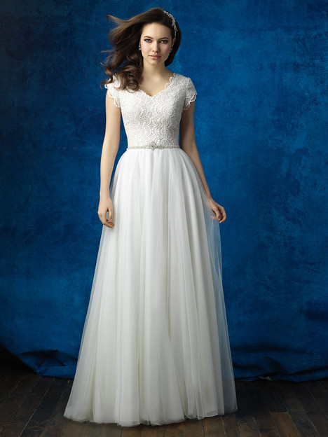 M564 Wedding Dress By Allure Modest Dressfinder