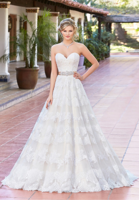 Lucia gown from the 2017 KittyChen Ivoire collection, as seen on dressfinder.ca