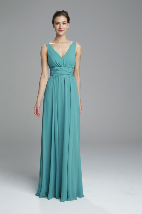 Justine (teal) gown from the 2017 Amsale : Bridesmaids collection, as seen on dressfinder.ca