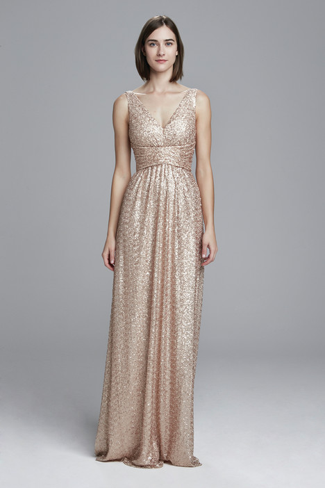 Solange (rose-gold) gown from the 2017 Amsale : Bridesmaids collection, as seen on dressfinder.ca