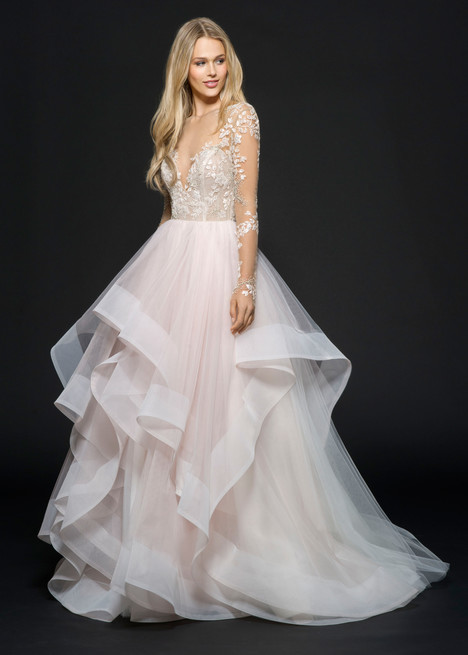 Lorelei (#6654) gown from the 2016 Hayley Paige collection, as seen on dressfinder.ca