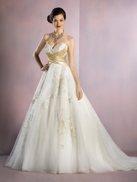Gold Wedding Dresses.256 Snow White Gold Wedding Dress By Alfred Angelo Disney Fairy