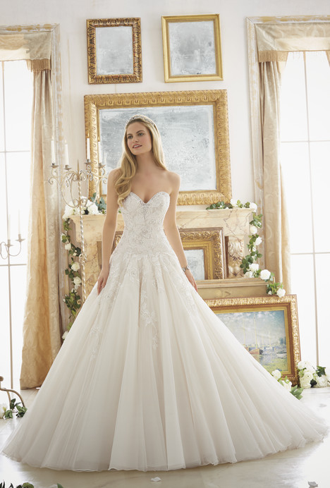 2877 gown from the 2016 Mori Lee: Bridal collection, as seen on dressfinder.ca