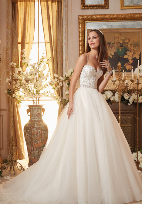 5463 gown from the 2016 Mori Lee: Blu collection, as seen on dressfinder.ca