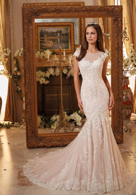 5466 gown from the 2016 Mori Lee: Blu collection, as seen on dressfinder.ca
