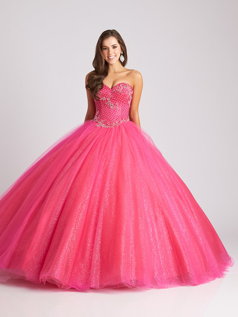 Q531 (fuchsia) gown from the 2016 Allure Quinceanera collection, as seen on dressfinder.ca