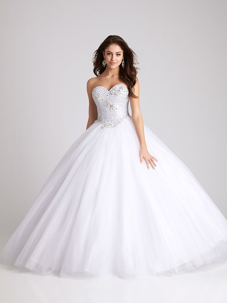 Q531 (white) gown from the 2016 Allure Quinceanera collection, as seen on dressfinder.ca