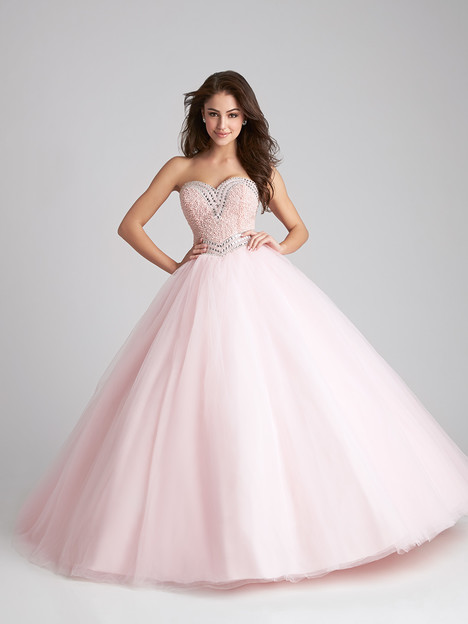 Q532 (light pink) gown from the 2016 Allure : Quinceanera collection, as seen on dressfinder.ca