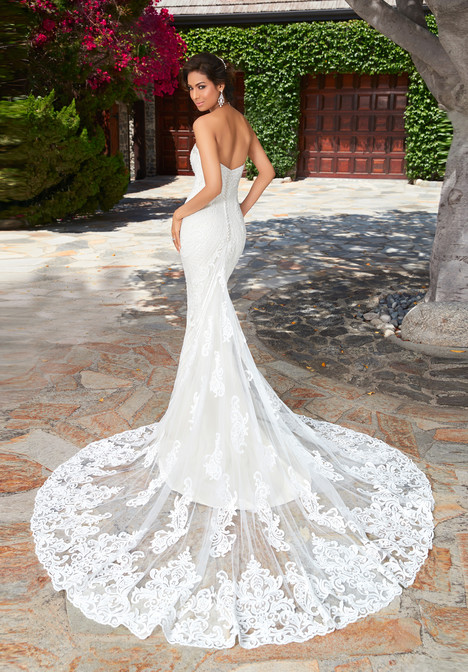 Lola (H1733) (back) gown from the 2017 KittyChen collection, as seen on dressfinder.ca
