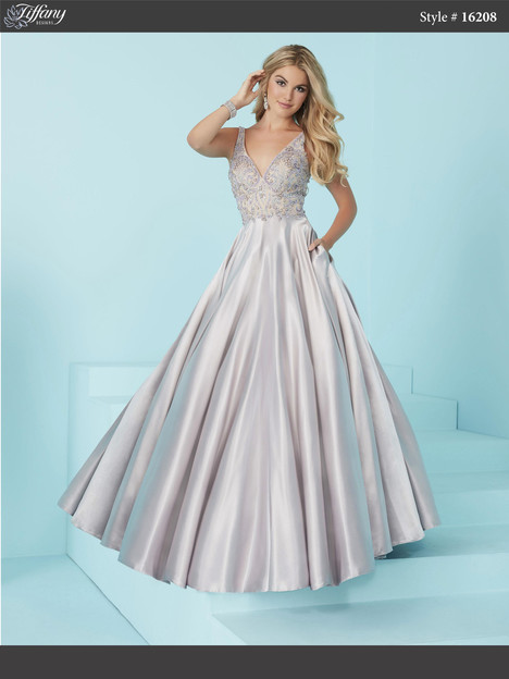 16208 (platinum) gown from the 2017 Tiffany Designs collection, as seen on dressfinder.ca