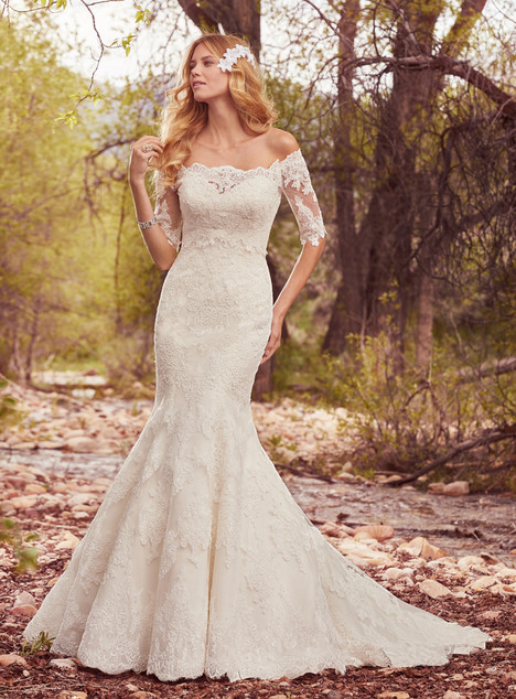 Betsy (+ jacket) gown from the 2017 Maggie Sottero collection, as seen on dressfinder.ca