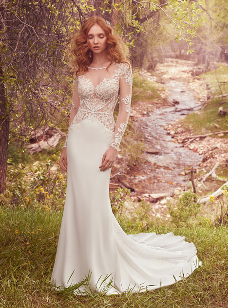Blanche gown from the 2017 Maggie Sottero collection, as seen on dressfinder.ca