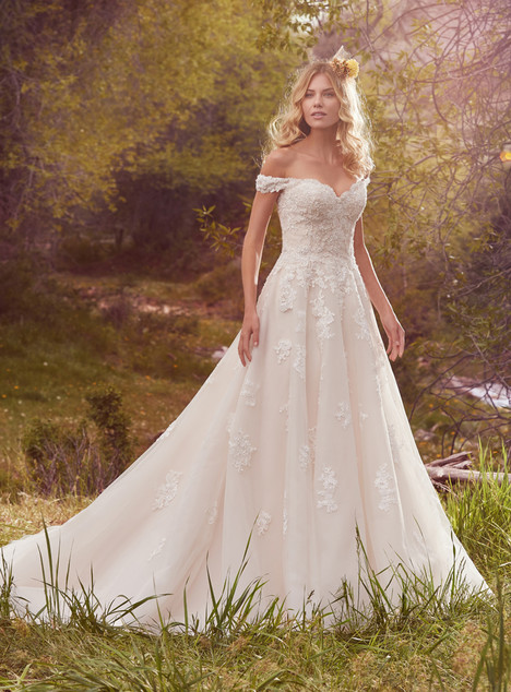Saffron gown from the 2017 Maggie Sottero collection, as seen on dressfinder.ca