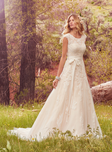 Lindsey marie wedding dress by maggie sottero shades for Wedding dress shades of white