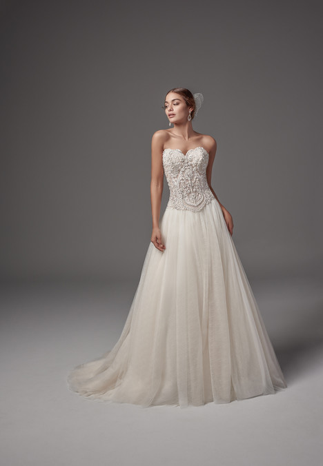 Carrington-Rose + Bisette (skirt) gown from the 2017 Sottero & Midgley collection, as seen on dressfinder.ca
