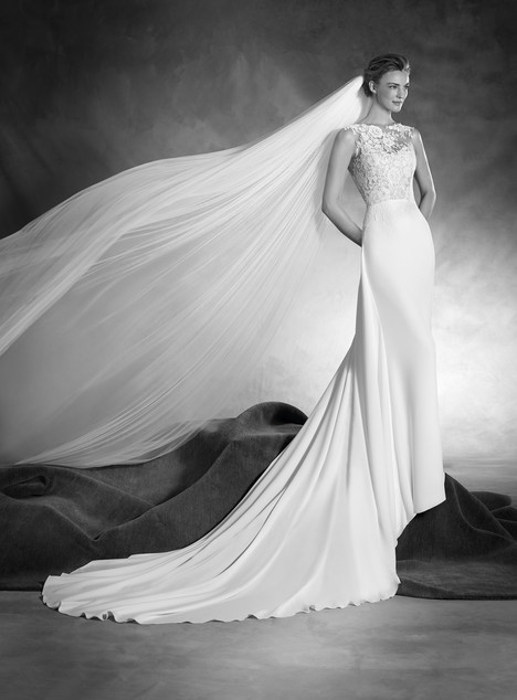 Natia gown from the 2017 Pronovias Atelier collection, as seen on dressfinder.ca