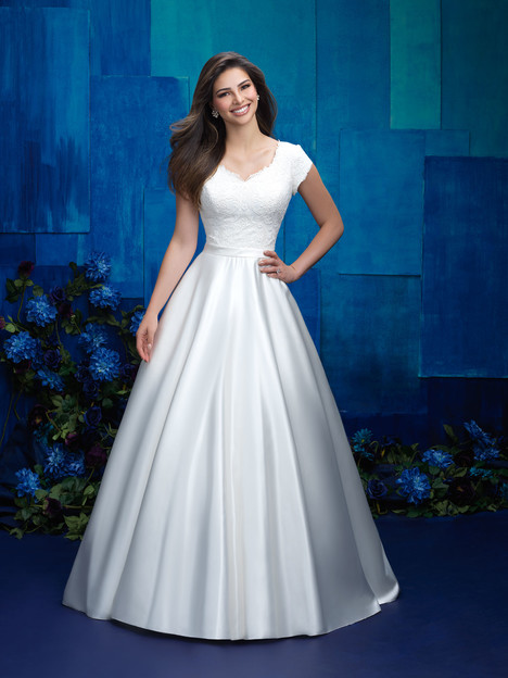 M575 Wedding Dress By Allure Modest Dressfinder
