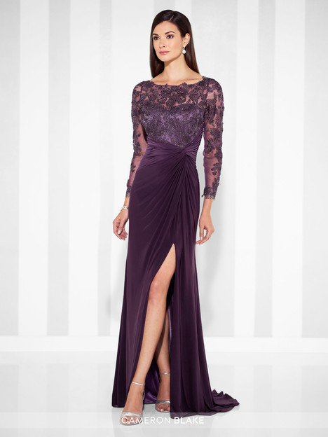 117613 2 Eggplant Mother Of The Bride Dress By Cameron