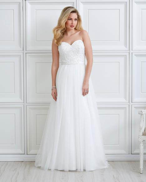 7051 gown from the 2017 Romantic Bridals collection, as seen on dressfinder.ca