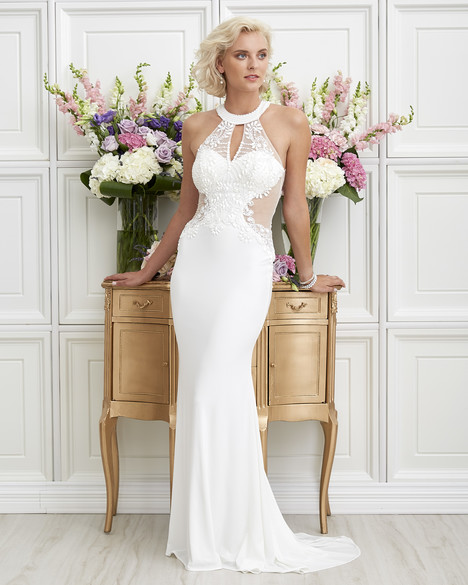 7254 gown from the 2017 Romantic Bridals collection, as seen on dressfinder.ca