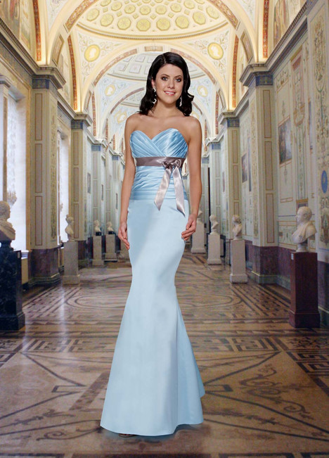 9272 gown from the 2013 DaVinci : Bridesmaids collection, as seen on dressfinder.ca