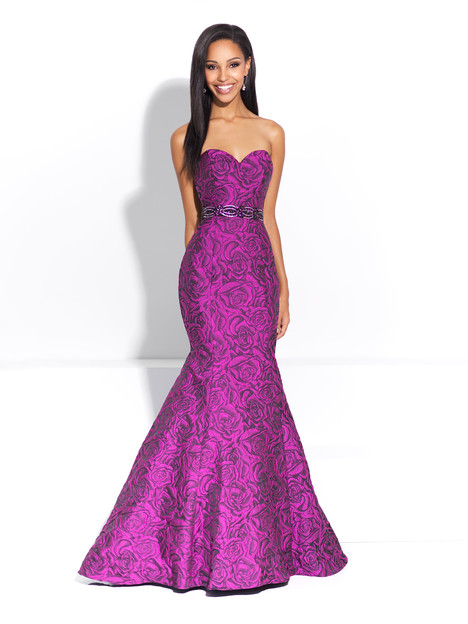 17 221 Black Purple Prom Dress By Madison James Special