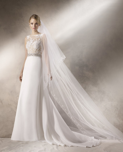 Hales gown from the 2017 La Sposa collection, as seen on dressfinder.ca