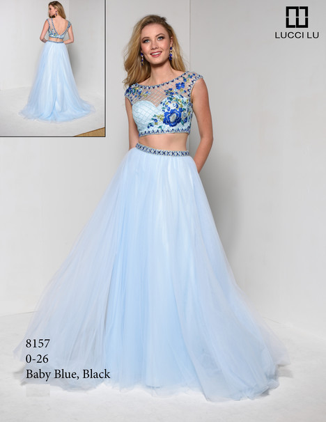 8157 gown from the 2017 Lucci Lu collection, as seen on dressfinder.ca