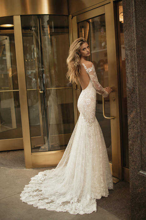 17 129 back wedding dress by berta bridal dressfinder 17 129 back gown from the 2017 berta bridal collection as seen junglespirit Gallery