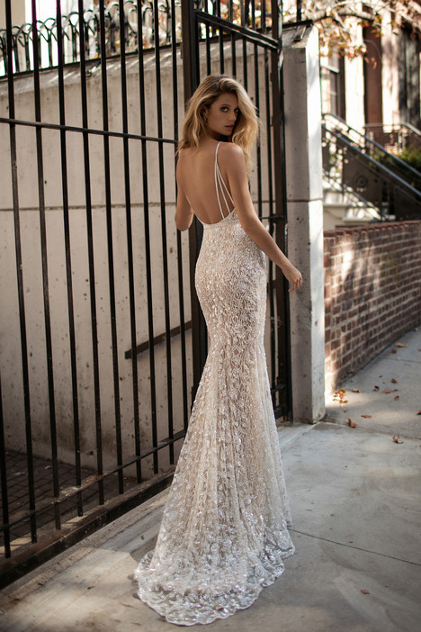 17 130 Back Gown From The 2017 Berta Bridal Collection As Seen