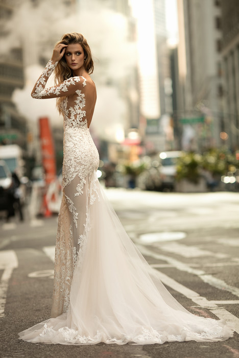 17 144 back wedding dress by berta bridal dressfinder 17 144 back gown from the 2017 berta bridal collection as seen junglespirit Image collections