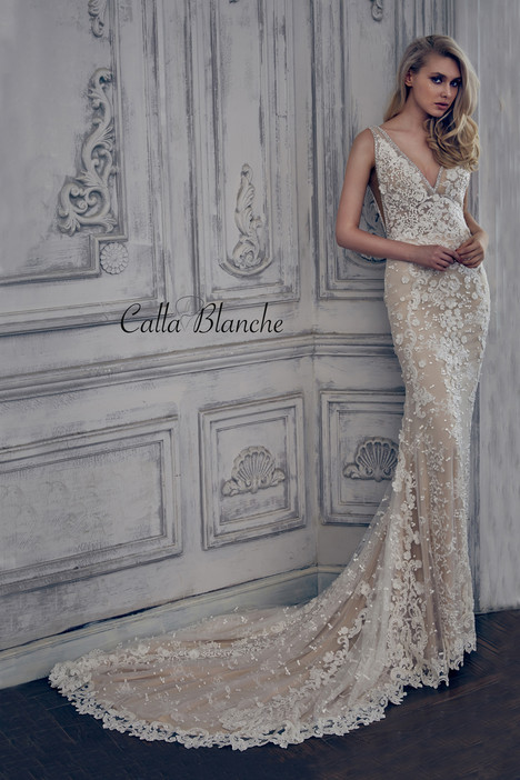17103 gown from the 2017 Calla Blanche collection, as seen on dressfinder.ca