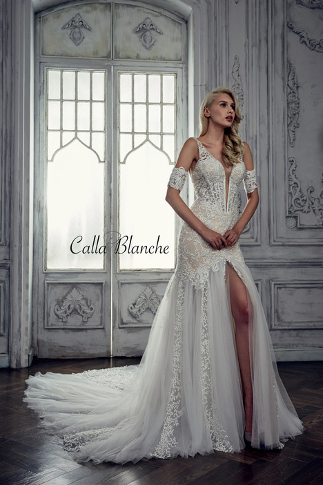17114 gown from the 2017 Calla Blanche collection, as seen on dressfinder.ca