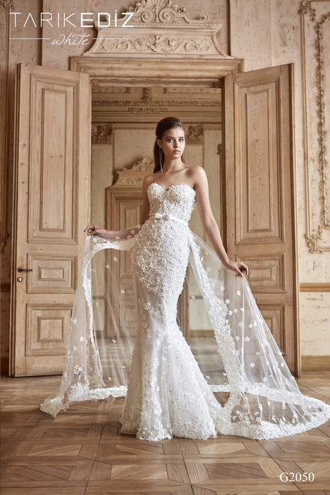 cc1fcb7b36e Nice (G2050) gown from the 2017 Tarik Ediz  White collection