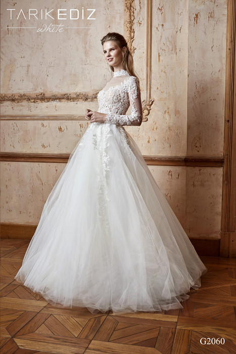 Toledo g2060 wedding dress by tarik ediz white for Wedding dresses toledo ohio