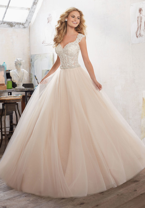 gown from the 2017 Morilee Bridal collection, as seen on dressfinder.ca