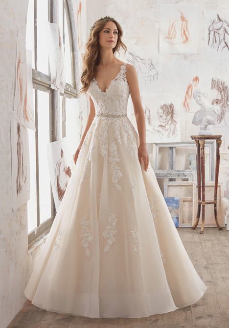 5510 gown from the 2017 Mori Lee: Blu collection, as seen on dressfinder.ca